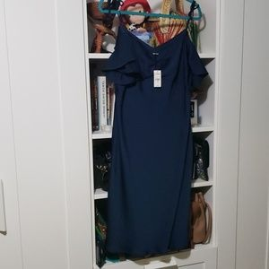 Express Off the Shoulder Dress (Large)